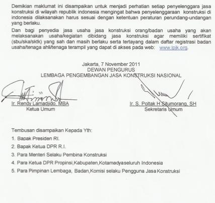 Halaman 5 Maklumat LPJK 8/2011
