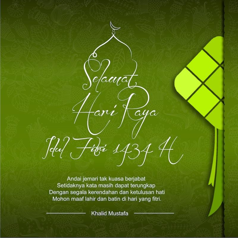 Selamat Hari Raya Idul Fitri 1434
