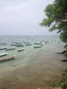 Pemandangan di Pulau Lembongan