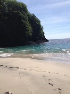 Sisi Kiri di Pantai Virgin