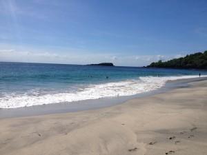 Sisi Kanan di Pantai Virgin