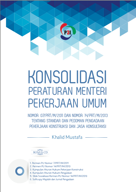 Buku Konsolidasi Permen PU 14/2013