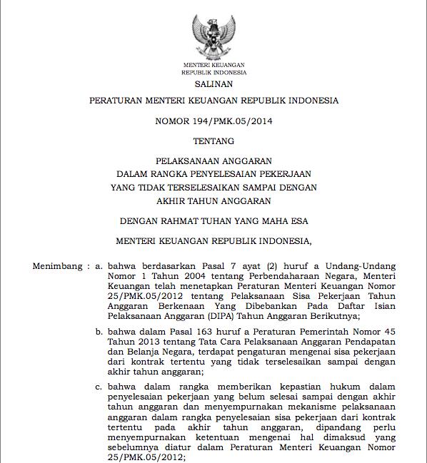 PMK 194/2014