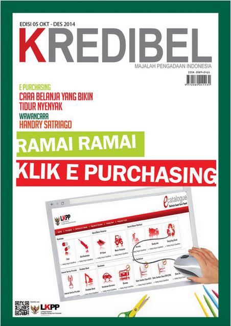 Sampul Majalah Kredibel Edisi 5